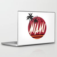 miami Laptop & iPad Skins featuring Miami by FRSHCo.