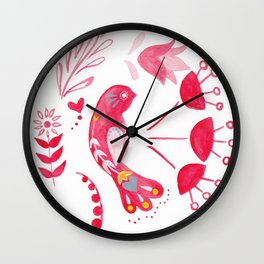 Bird of Hope Wall Clock