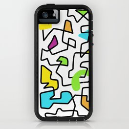 Bright n' Squiggly iPhone Case