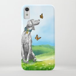 KIKI AND BUTTERFLIES iPhone Case