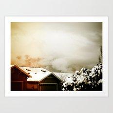 WinterSky #4 Art Print
