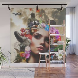 CHINESE HAIRSTYLE Wall Mural