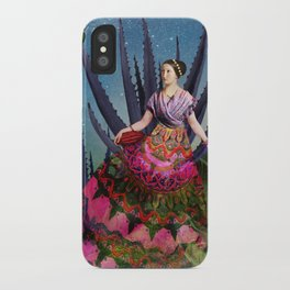 Blue Agave and Cacao iPhone Case