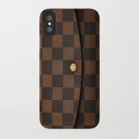 louis iPhone & iPod Cases featuring LOUIS by MiliarderBrown
