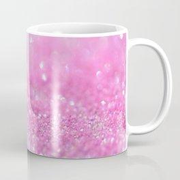 Sparkling Baby Girl Pink Glitter Effect Coffee Mug