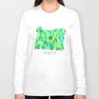 portland Long Sleeve T-shirts featuring Portland by Maura McGonagle