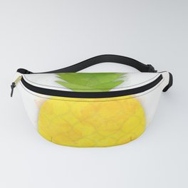 Tropical Pineapple Digital Watercolor Fanny Pack