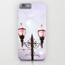 Lamplight of Cotton Candy Dreams iPhone Case