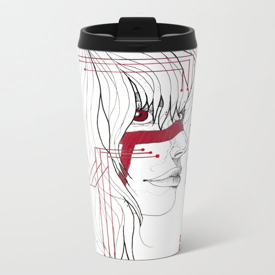 TRIBAL Metal Travel Mug