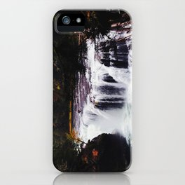 Lower Lewis River Falls #1 iPhone Case
