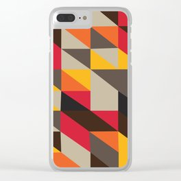 On A Hot, Hot African Night Clear iPhone Case