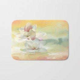 Magnolienblüten Bath Mat