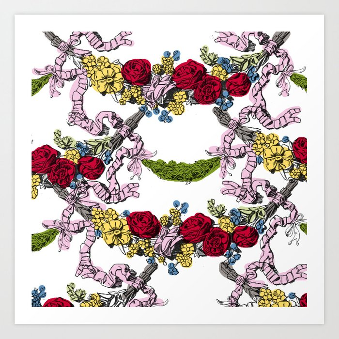 Corinthian Grapes 2 Art Print