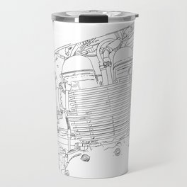 bonney drawing Travel Mug