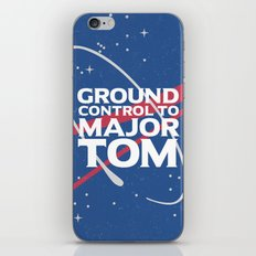 Ground Control to Major Tom iPhone & iPod Skin