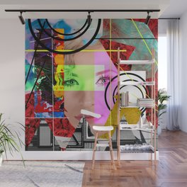 Don't Hide Behind Layers - Be Yourself Wall Mural