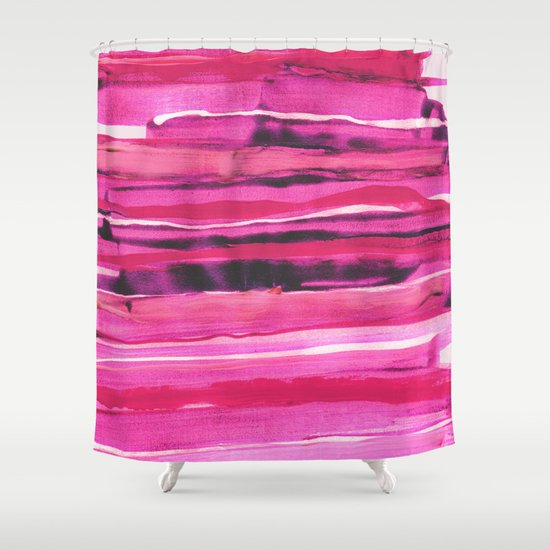 Stack III Shower Curtain