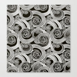 Abstract twirl #1 Canvas Print