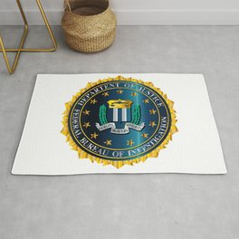 FBI Seal Mockup Rug