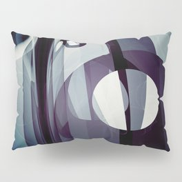 Modern abstract with geometric shapes Pillow Sham
