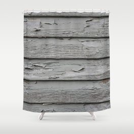 Weatherboards Shower Curtain