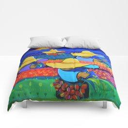 LAS DAMAS RECOLECTORAS Comforters