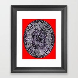 SNOWFLAKES  #society6 #decor #buyart Framed Art Print