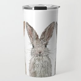 Triple Bunnies Travel Mug