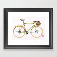 Coffee Wheels #17 Framed Art Print