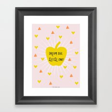 Dream Big, Little One Framed Art Print