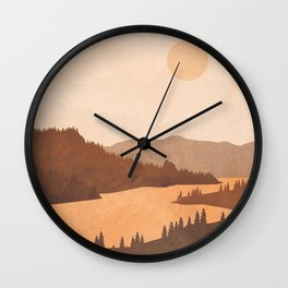 Deep River Country Wall Clock