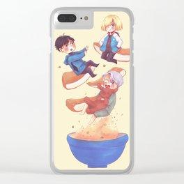 Vkusno Clear iPhone Case