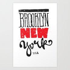 Brooklyn New York Art Print