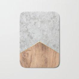Concrete Arrow Wood #345 Bath Mat
