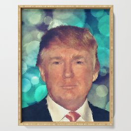 President Donald J. Trump Serving Tray
