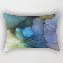 And the Earth showed us her colors Rectangular Pillow
