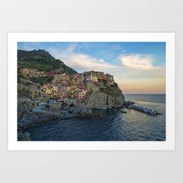 Manarola - 5 Terre - Liguria - Italy Art Print