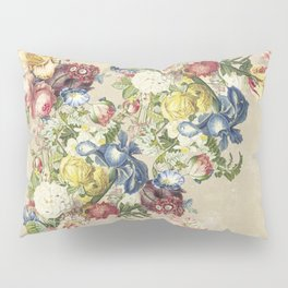 Floral tribute to Louis McNeice (Light) Pillow Sham