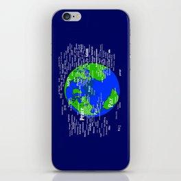 Peace on Earth iPhone Skin