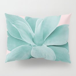 Blush Agave Romance #1 #tropical #decor #art #society6 Pillow Sham