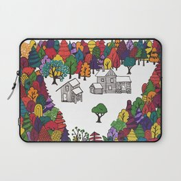Hike to Autumn Solitude Laptop Sleeve