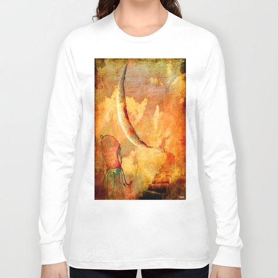 Shelsea under the moon Long Sleeve T-shirt