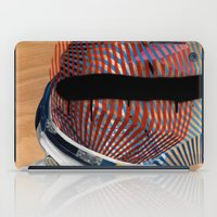 spaceman iPad Cases featuring Spaceman No:2 by FAMOUS WHEN DEAD