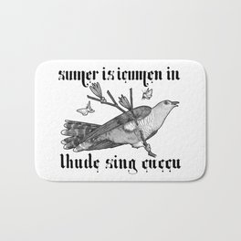 Lhude Sing Cuccu Bath Mat