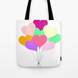 Balloon Bouquet for Valentines Day Tote Bag