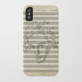 Beethoven iPhone Case