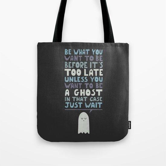 Motivational Speaker Tote Bag