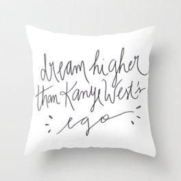e g o Throw Pillow