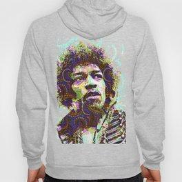 Hendrix Psychedelic Guitar Hoody