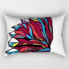 Native American Head-dress Rectangular Pillow